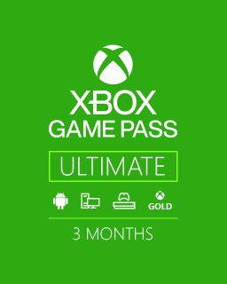 Microsoft Xbox Game Pass Ulimate 3m