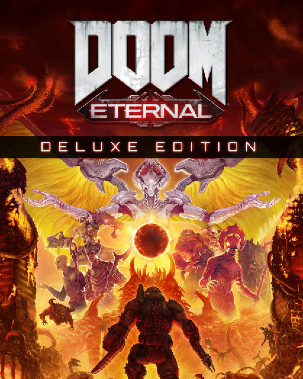 Doom Eternal Digital Deluxe Edition krabice