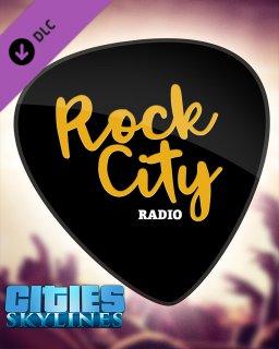 Cities Skylines Rock City Radio krabice