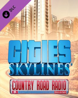 Cities Skylines Country Road Radio krabice