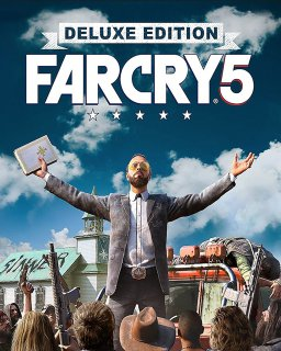 Far Cry 5 Deluxe Edition krabice