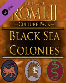 Total War ROME II Black Sea Colonies Culture Pack krabice