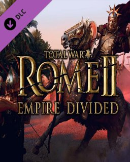 Total War ROME II Empire Divided krabice