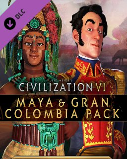 Civilization VI Maya & Gran Colombia Pack krabice