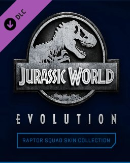 Jurassic World Evolution Raptor Squad Skin Collection