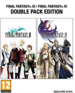Final Fantasy III + IV Double Pack Edition krabice