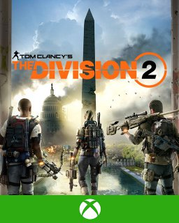 Tom Clancys The Division 2 Xbox One krabice