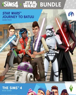 The Sims 4 + Star Wars Výprava na Batuu krabice