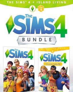 The Sims 4 + rozšíření Život na ostrově krabice