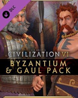 Sid Meiers Civilization VI Byzantium & Gaul Pack