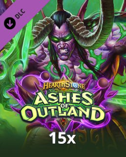 15x Hearthstone Ashes of Outland krabice
