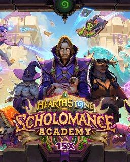 15x Hearthstone Scholomance Academy krabice