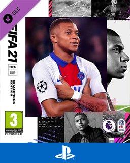 FIFA 21 Champions Edition Upgrade krabice