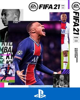 FIFA 21 Champions Edition krabice