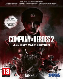 Company of Heroes 2 All Out War Edition krabice