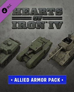 Hearts of Iron IV Allied Armor Pack