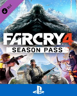 Far Cry 4 Season pass krabice
