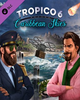 Tropico 6 Caribbean Skies krabice
