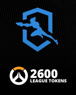 Overwatch 2600 League Token krabice