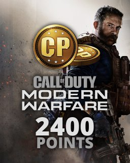 Call of Duty Modern Warfare 2400 Points krabice