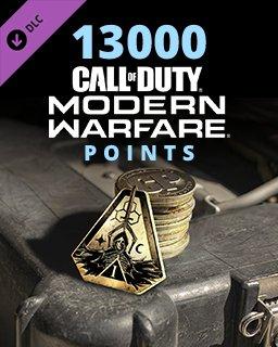 Call of Duty Modern Warfare 13000 Points krabice