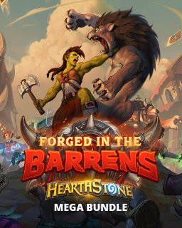 Hearthstone Forged in the Barrens Mega Bundle krabice