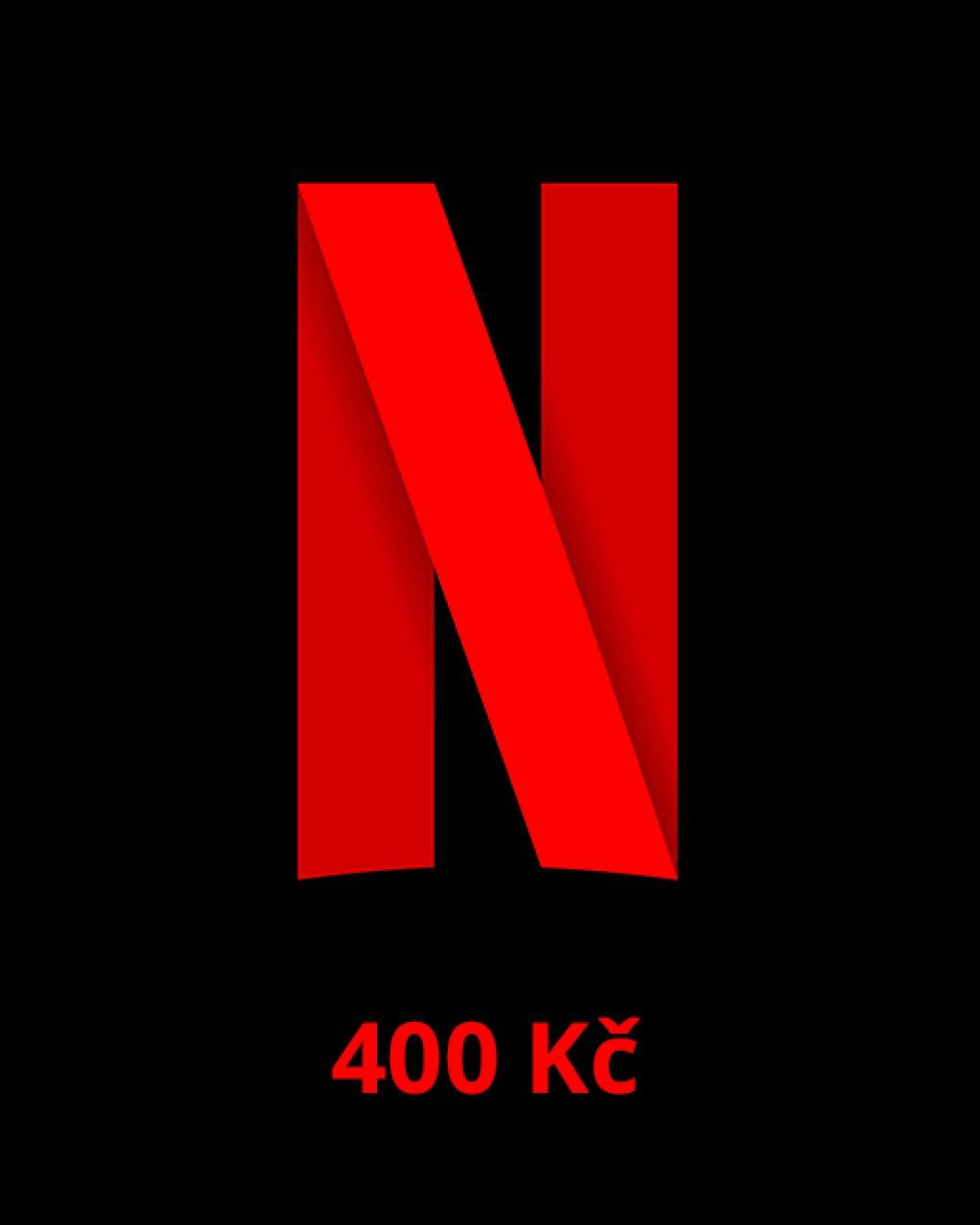 Netflix 400 Kč
