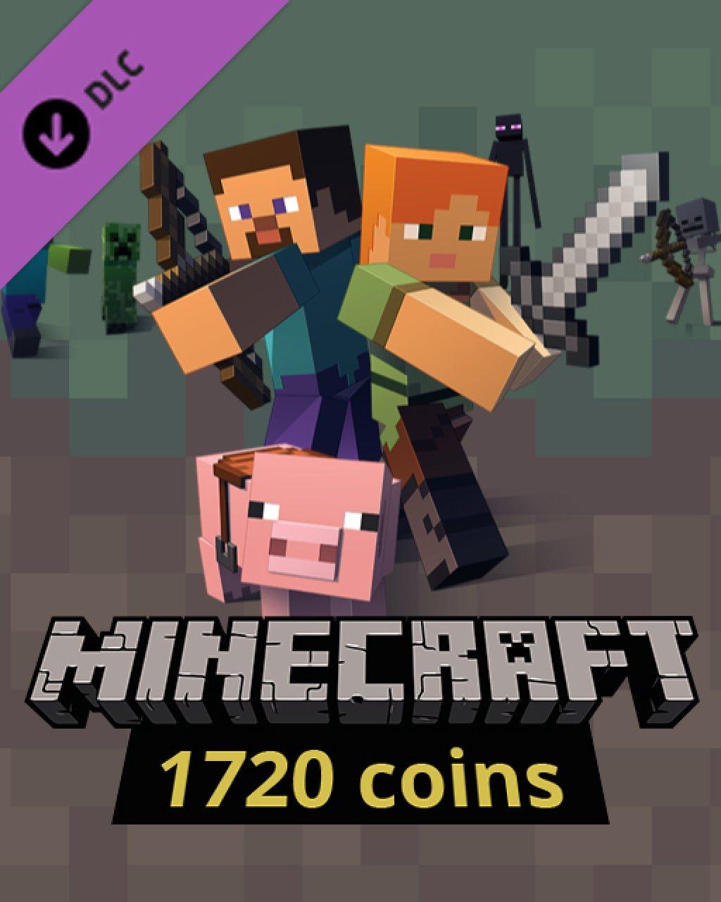 Minecraft 1720 Coins