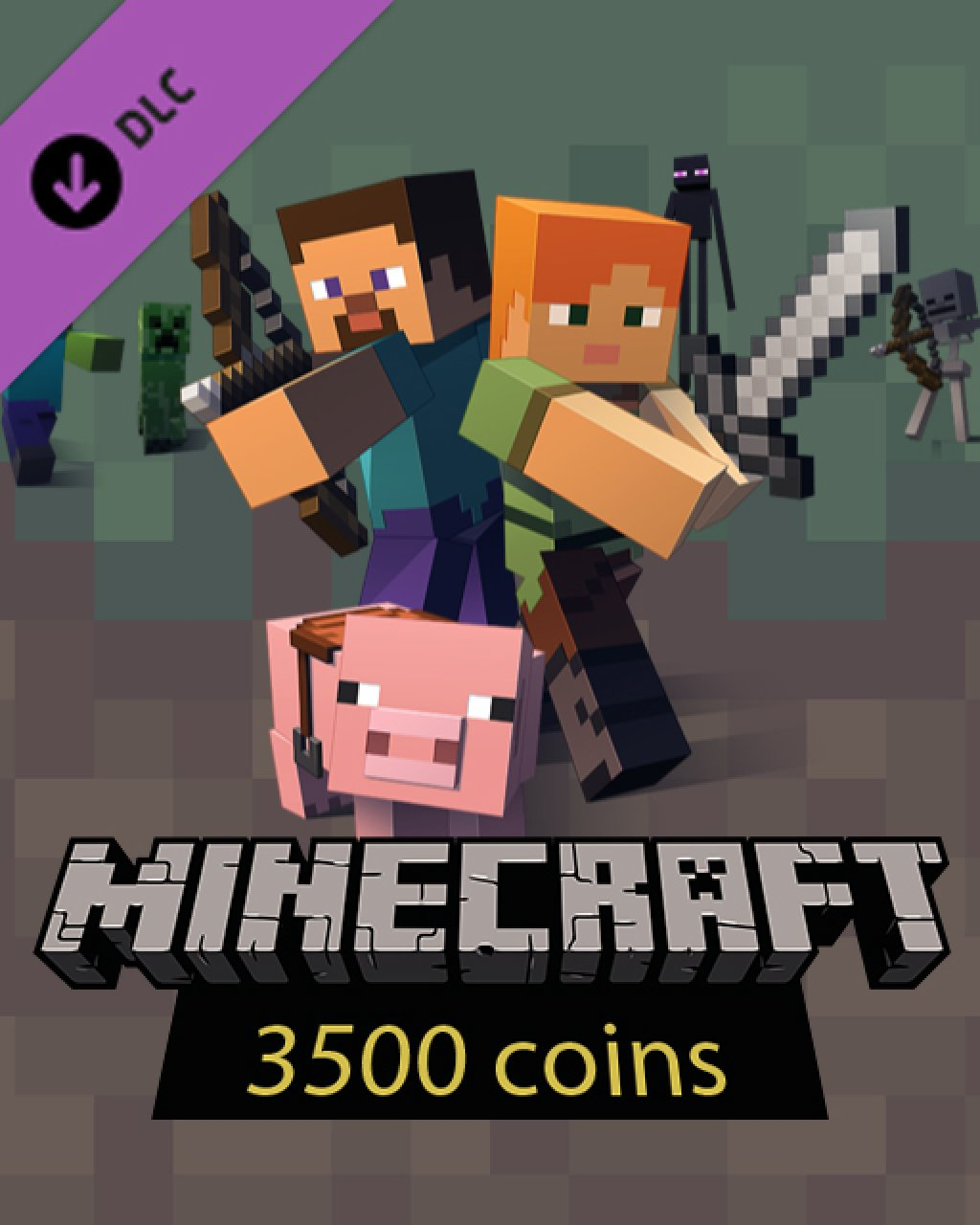 Minecraft 3500 Coins