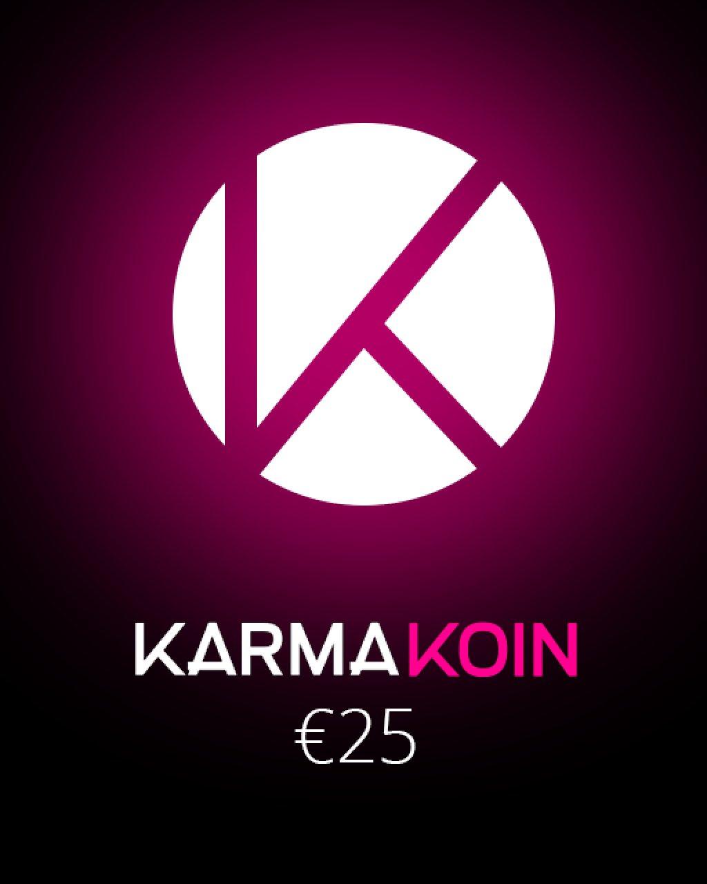 Karma Koin 25 EUR