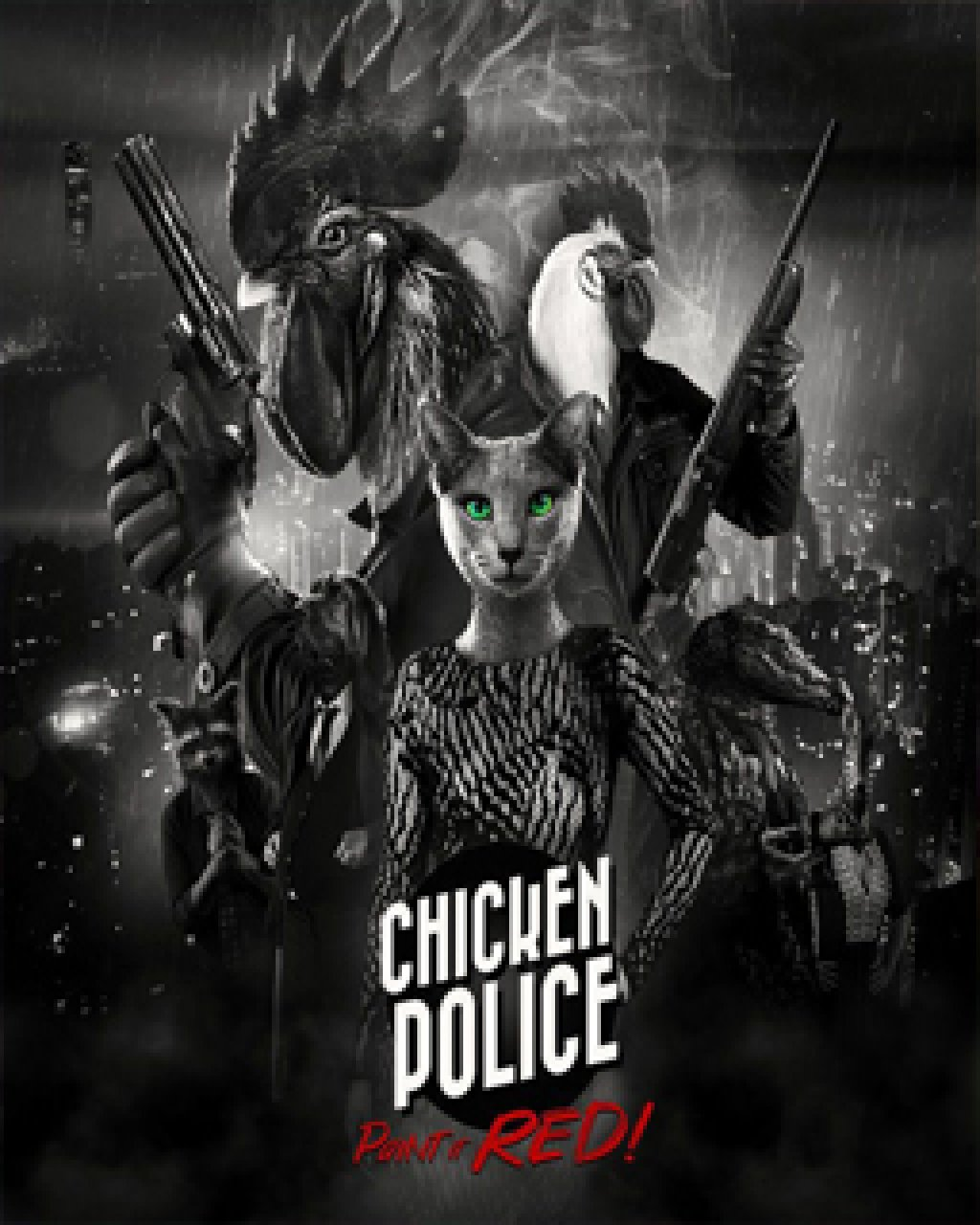 Chicken Police Paint it RED!