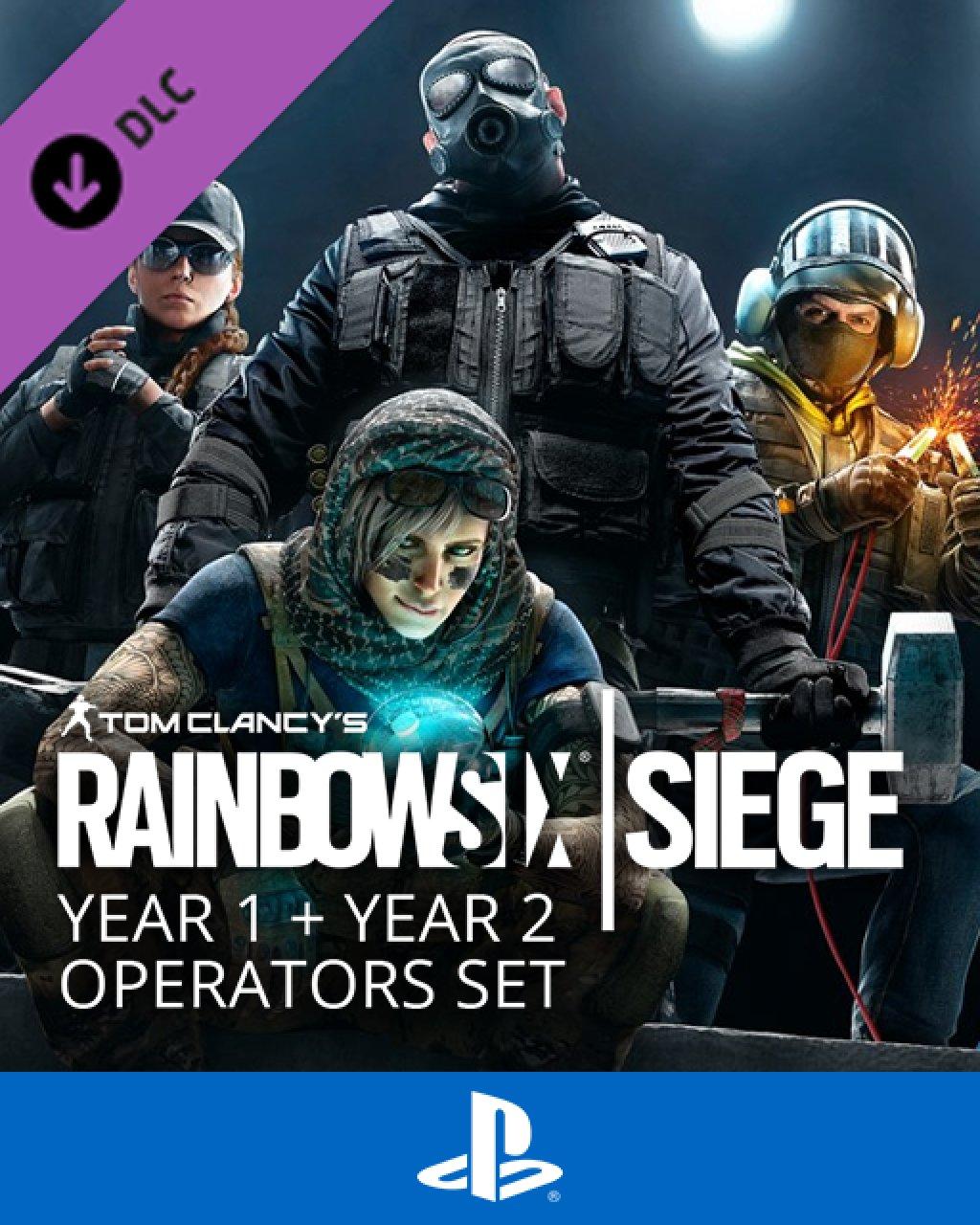Tom Clancy's Rainbow Six Siege Year 1 + Year 2 Operators Set