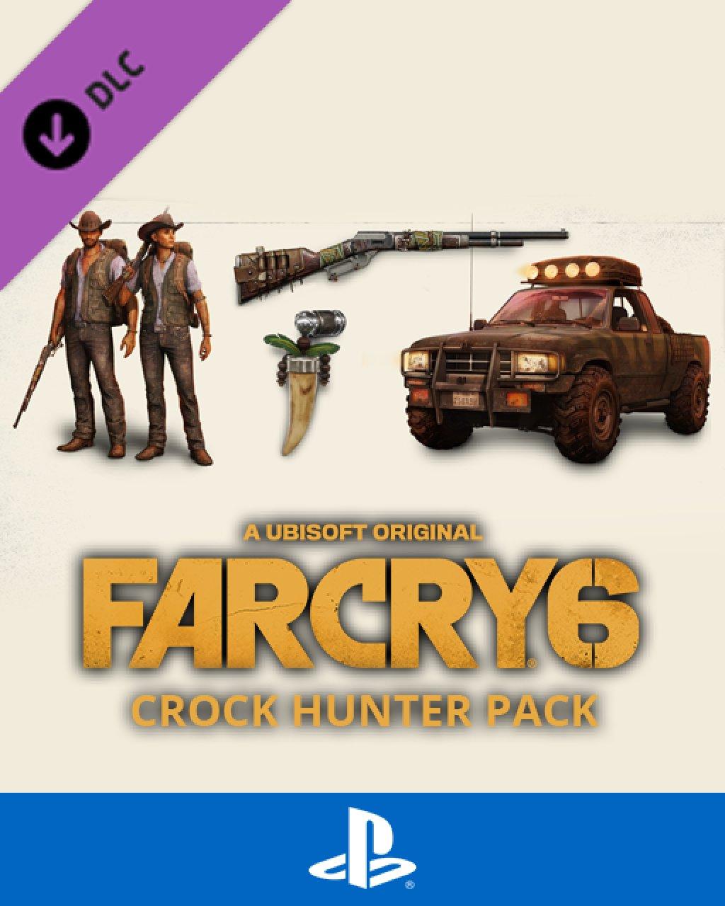 Far Cry 6 Croc Hunter Pack