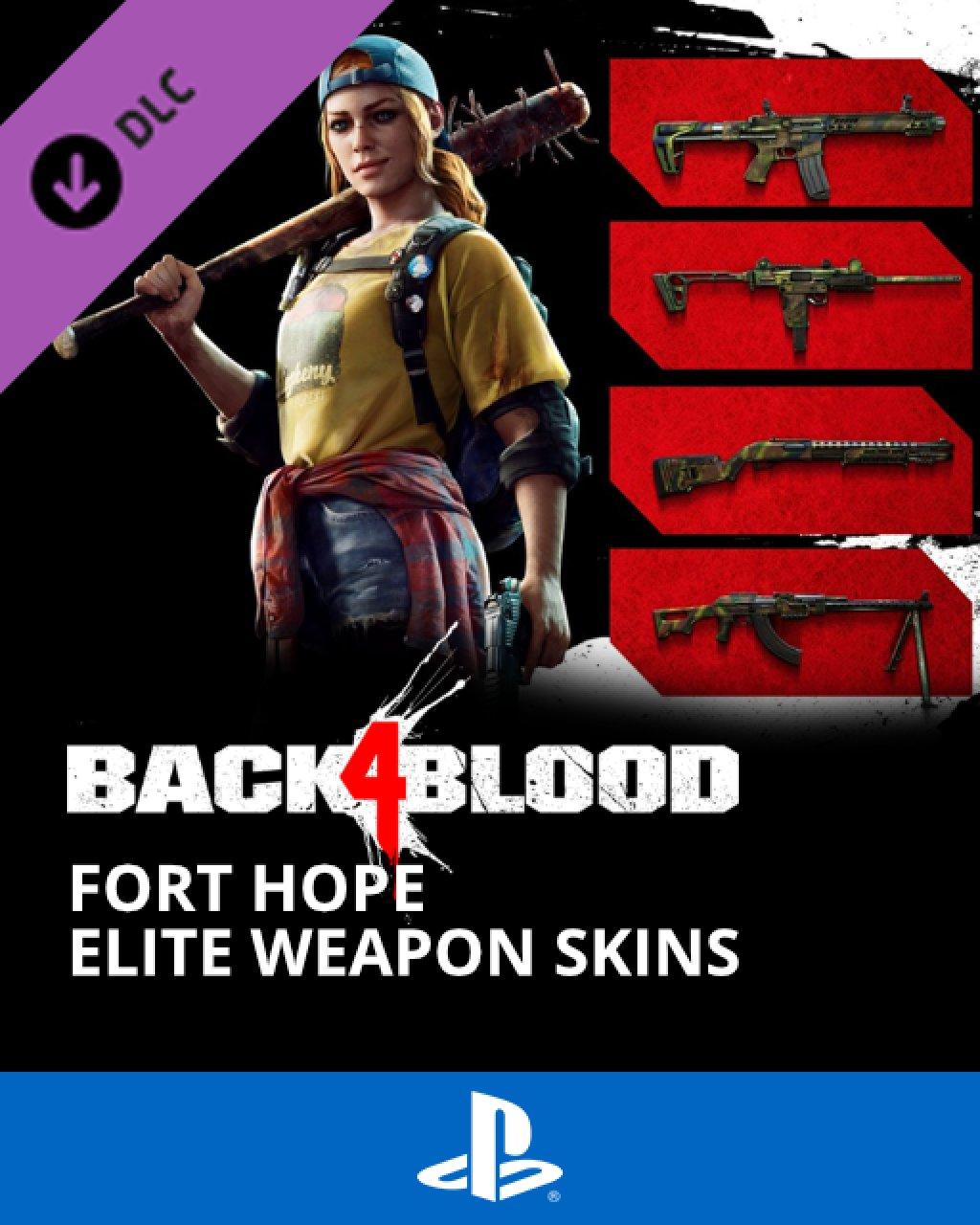 Back 4 Blood Fort Hope Elite Weapon Skins