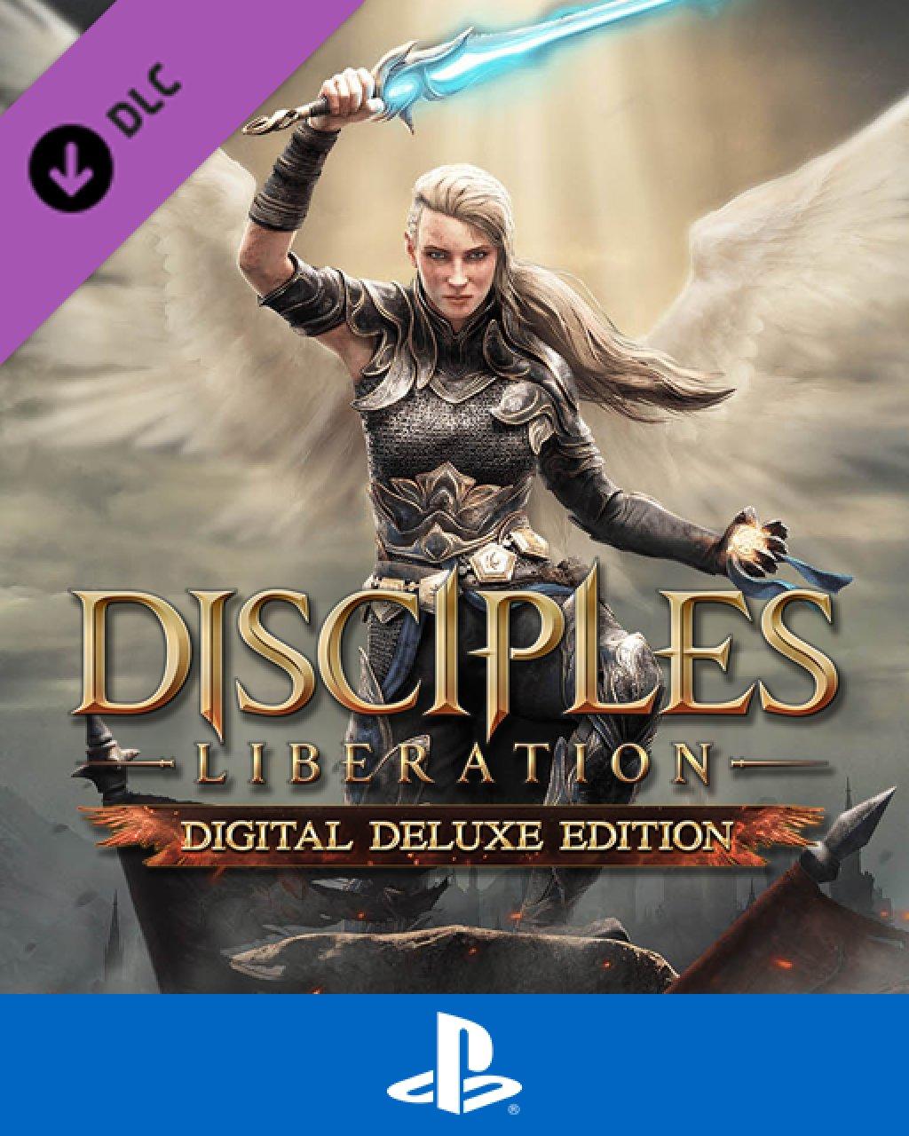 Disciples Liberation Digital Deluxe Edition Content