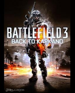 Battlefield 3 Back to Karkand krabice