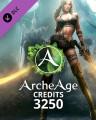 ArcheAge Credits 3250
