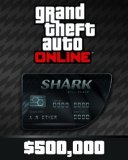 Grand Theft Auto V Online Bull Shark Cash Card 500,000$ GTA 5
