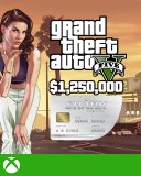 Grand Theft Auto V Online Great White Shark Cash Card 1,250,000$ GTA 5 Xbox One