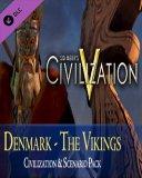 Sid Meiers Civilization V Civilization and Scenario Pack Denmark The Vikings