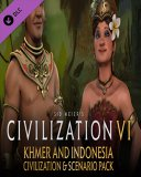 Sid Meiers Civilization VI Khmer and Indonesia Civilization & Scenario Pack