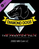 Metal Gear Solid V The Phantom Pain 2000 MB Coin LC