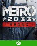Metro 2033 Redux Xbox