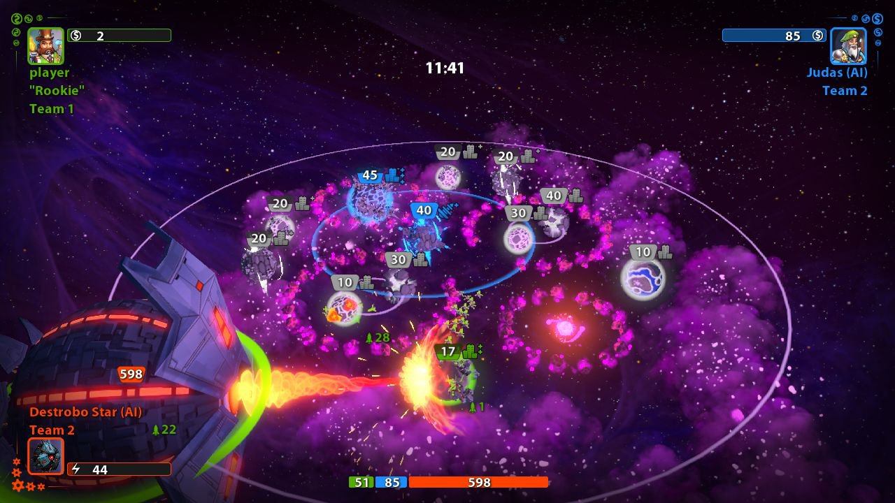 Planets Under Attack 2