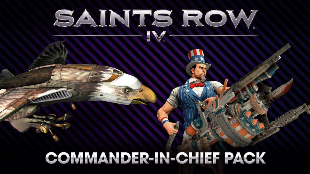 Saints Row IV Commander In Chief DLC Pack 1