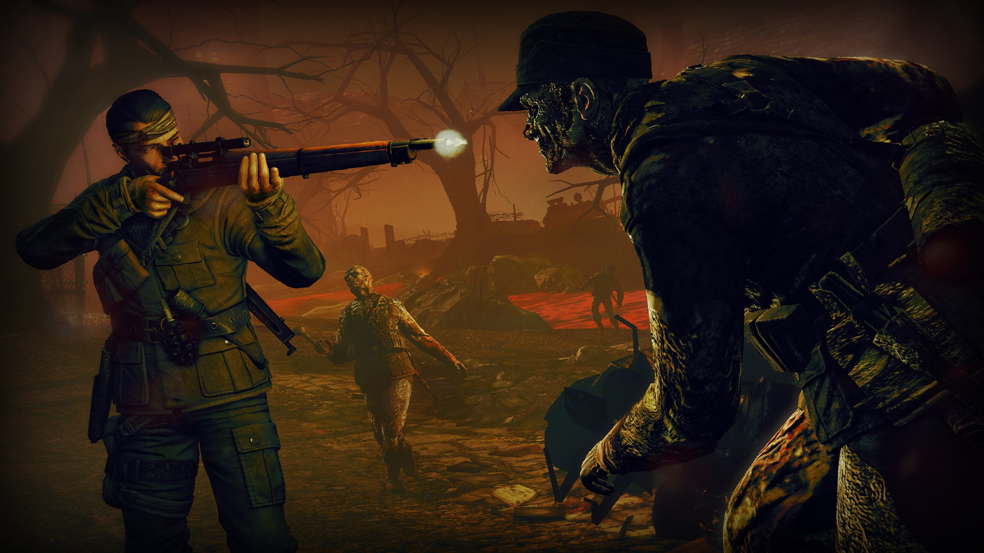 Sniper Elite Nazi Zombie Army 2 9