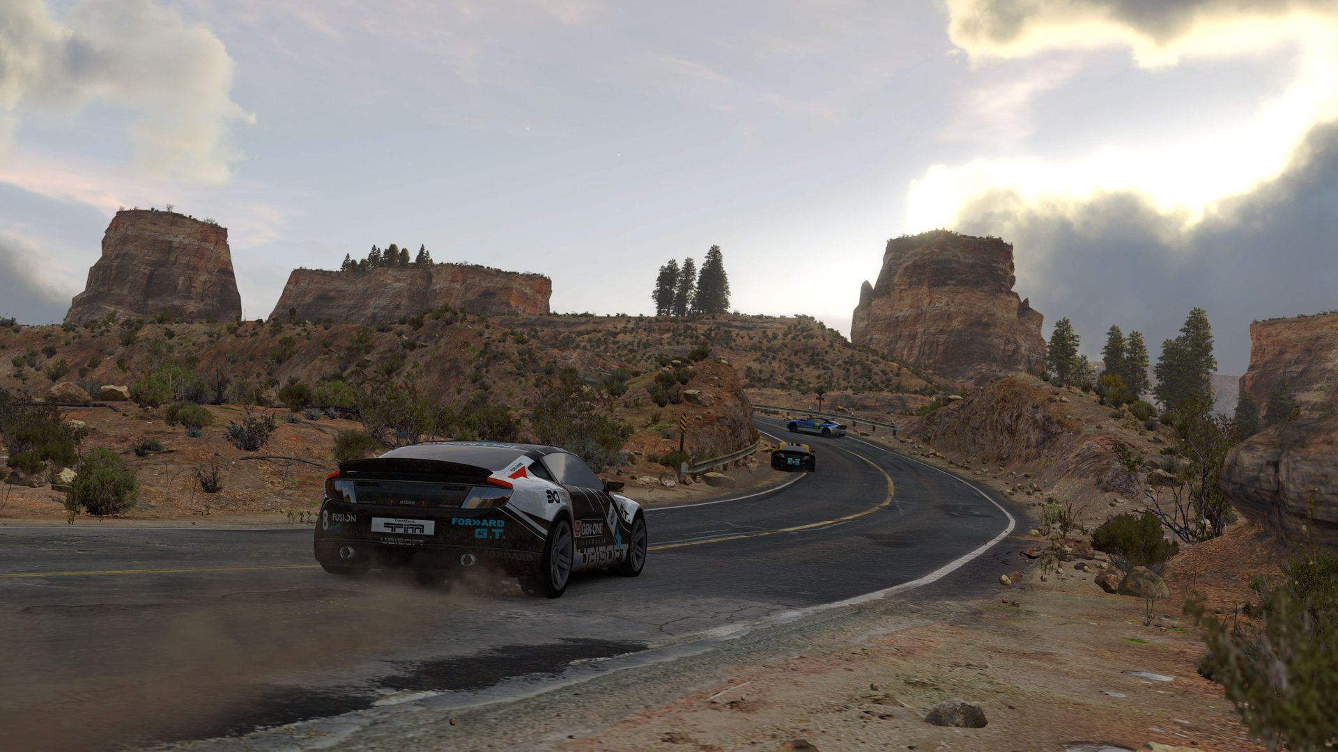 TrackMania 2 Canyon 1