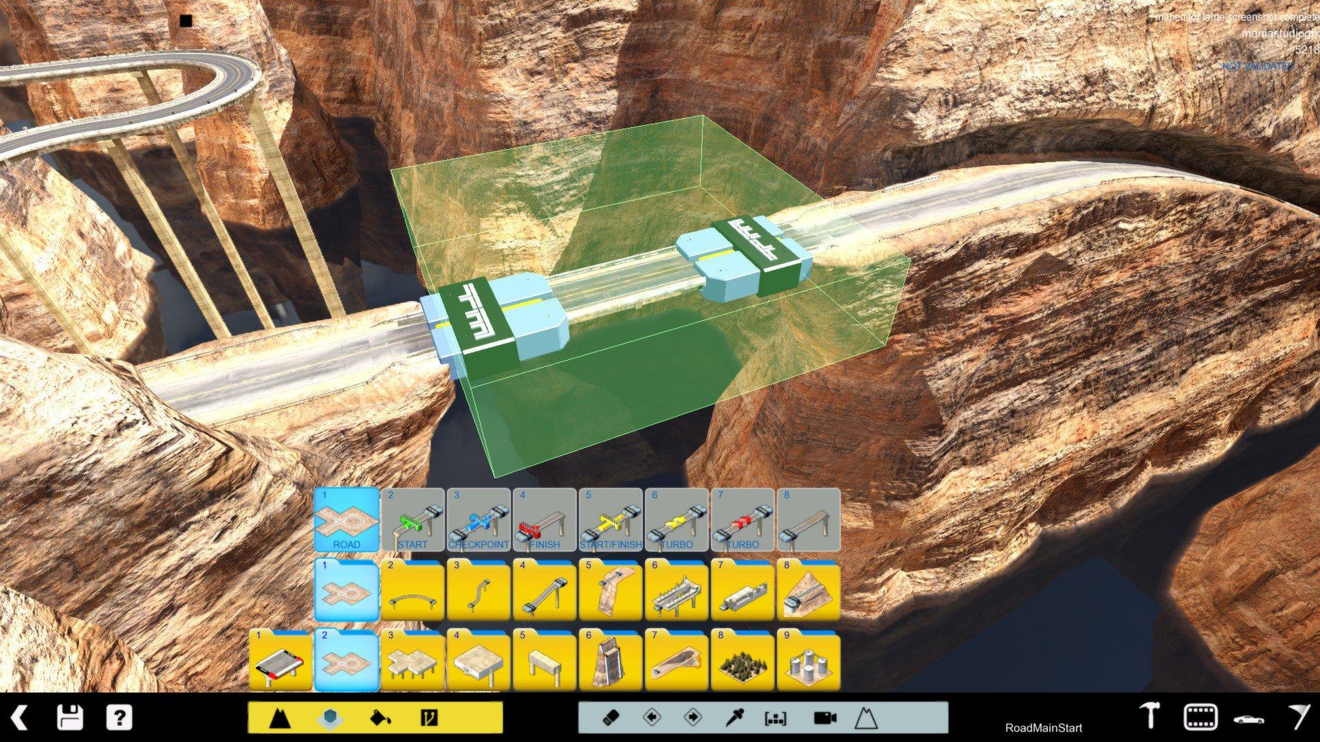 TrackMania 2 Canyon 10