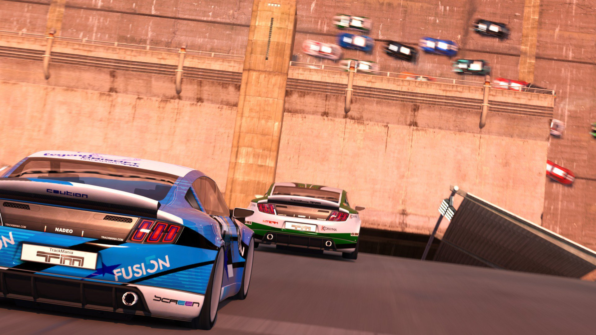 TrackMania 2 Canyon 12