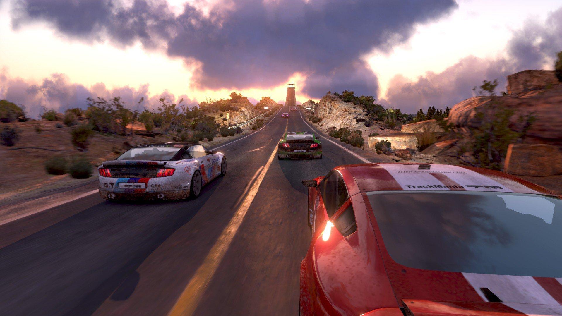 TrackMania 2 Canyon 17